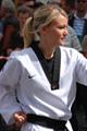 Taekwondo-Trainerin Andrea