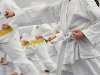 Kampfsportler beim Training